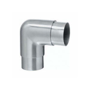 90º Corner Connector for Stainless Steel Ø 42.4mm Handrail