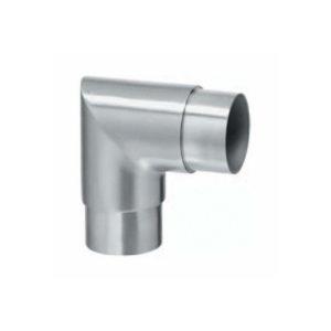Sharp 90º Corner Connector for Stainless Steel Ø 42.4mm Handrail