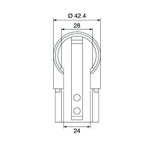Slotted-Rail-90º-Vertical-Connector-Spec-002