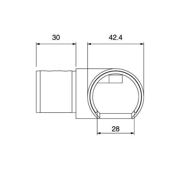 Slotted-Tube-90º-Connector-Spec-001