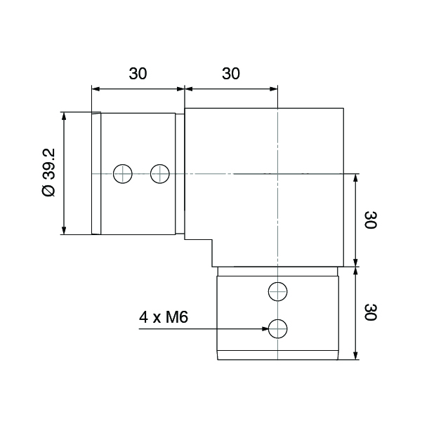 Slotted-Tube-90º-Connector-Spec-003