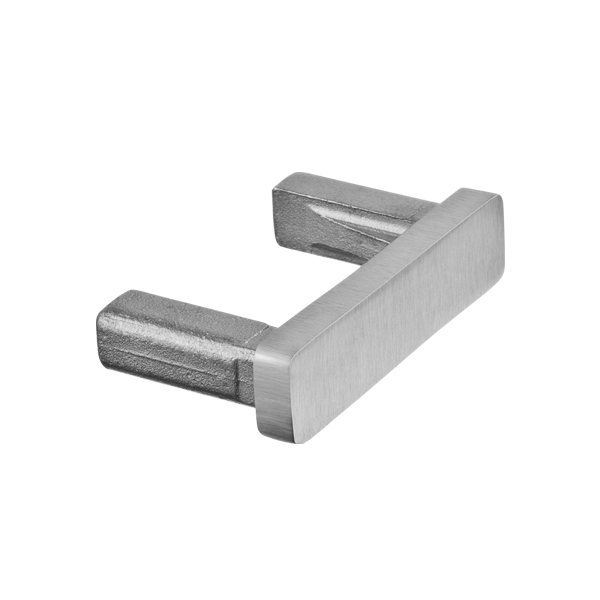 End Cap for Rectangle 40mm x 10mm Stainless Steel Tube